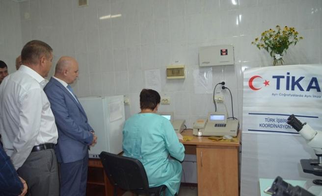 TİKA'dan Ukrayna'ya sağlık yardımı