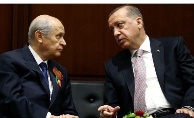 AK Parti ve MHP ittifak görüşmelerine başladı