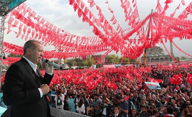 Başkan Erdoğan: İş Bankası hisselerinin devrini Meclis'e getiriyoruz