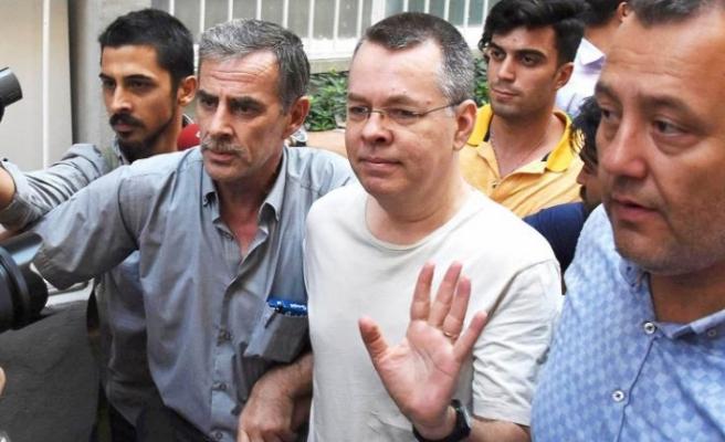 Savcı, Brunson hakkında 10 yıl hapis ve tahliye istedi