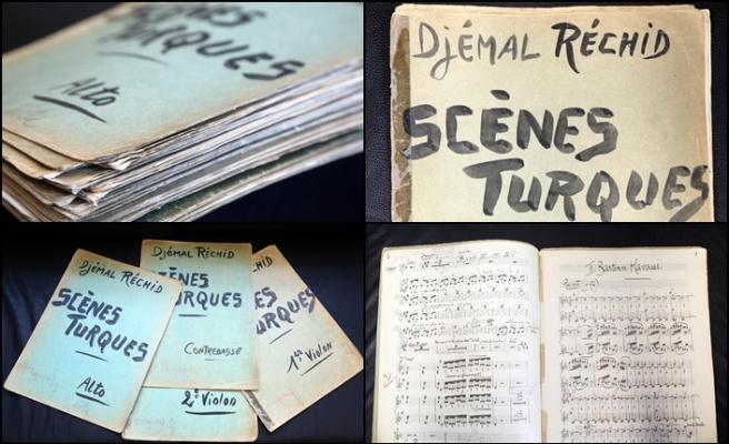 Cemal Reşit Rey'in el yazısı notaları gün yüzüne çıktı