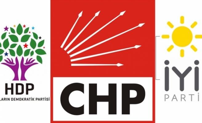 CHP'den HDP ve İyi Partili ittifak planı