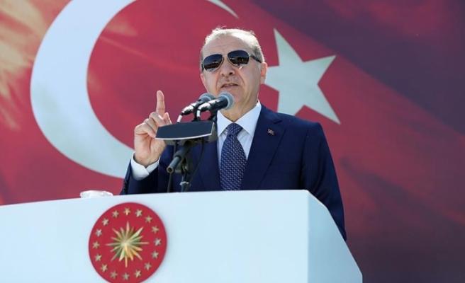 Erdoğan: Terör yuvalarını darmadağın edeceğiz