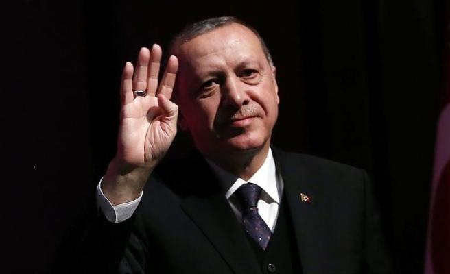 Erdoğan Köln Camii'nde Kuran okudu | VİDEO