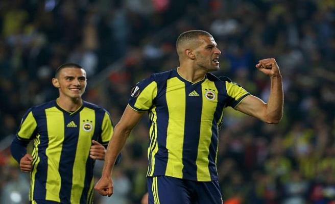 Fenerbahçe Slimani ile güldü