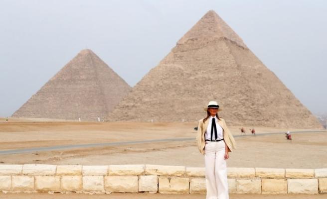 ''First Lady 'Indiana Jones' filminden fırlamış gibi''