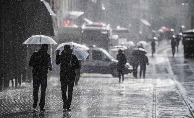 İstanbul ve bazı illere kuvvetli yağış uyarısı