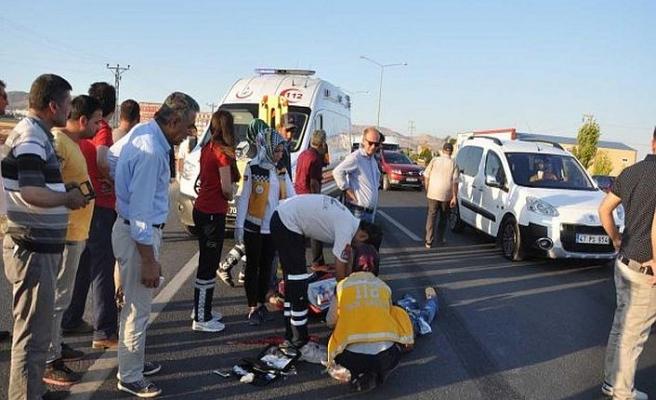 Mardin'de kaza: 14 yaralı