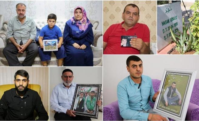 PKK tarafından katledilen gençlerin ailelerinin acısı dinmiyor