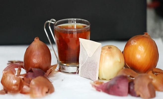 Soğan kabuğu her derde deva çay oldu