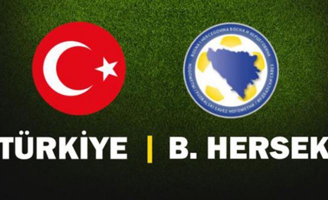 Türkiye Bosna Hersek maçı hangi kanalda, saat kaçta, ne zaman? Türkiye maçı hangi kanalda?