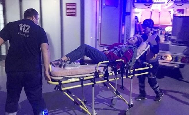 Yurtta kalan 28 öğrenci hastanelik oldu