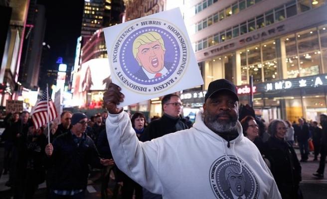 ABD'de halk Rusya soruşturması için sokağa çıktı