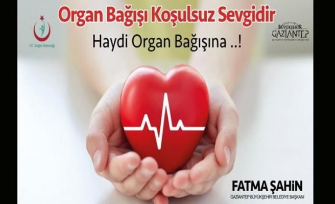 Belediyeden organ bağışına destek