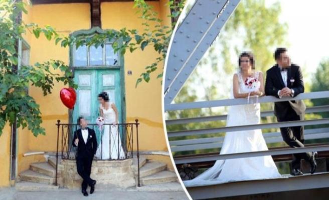 Düğün fotoğraflarını çirkin çekince