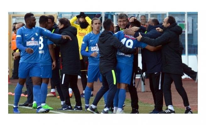 Erzurumspor nefes aldı, İbrahim Akdağ'dan müthiş gol