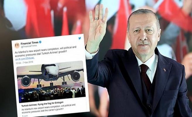Financial Times: THY, Erdoğan'la birlikte uçuşa geçti