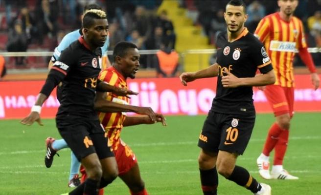 Kayserispor 0 - 3 Galatasaray