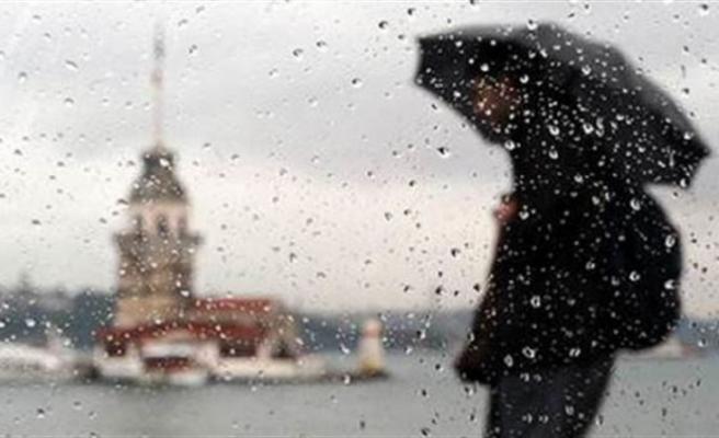 Meteoroloji'den üç bölge için yağış uyarısı