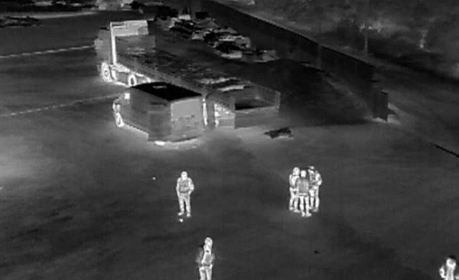 İnsansız hava aracı tespit etti: 25 ton kaçak midye