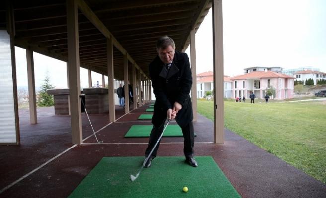Ankaralıların yeni hobisi golf oynamak olacak