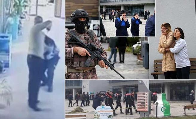 Çukurova Belediyesi'ndeki silahlı saldırının görüntüsü ortaya çıktı!