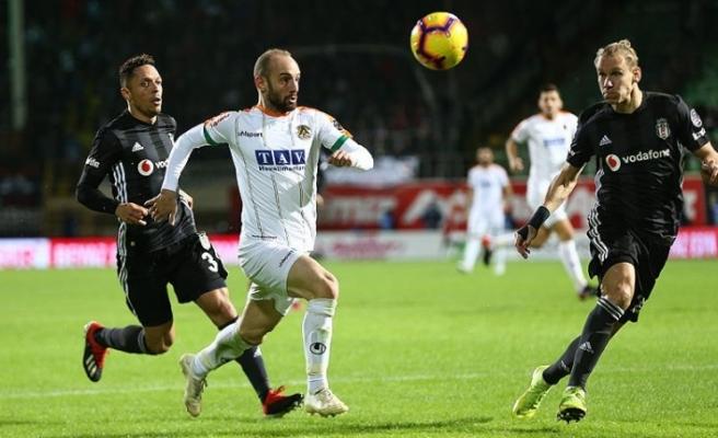Alanyaspor 0 0 Beşiktaş / Maç sonucu