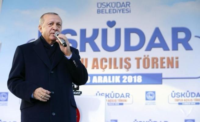 Cumhurbaşkanı Erdoğan'dan Sarı Yeleklilerle ilgili çok konuşulacak yorum