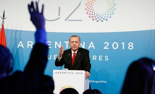Cumhurbaşkanı Erdoğan: KKTC'nin haklarının gaspedilmesine asla izin vermeyeceğiz