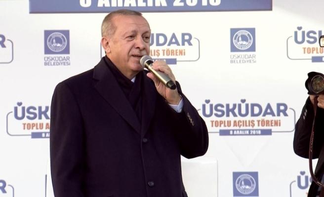 Erdoğan sert çıktı: O kadınla senin yan yana ne işin var?