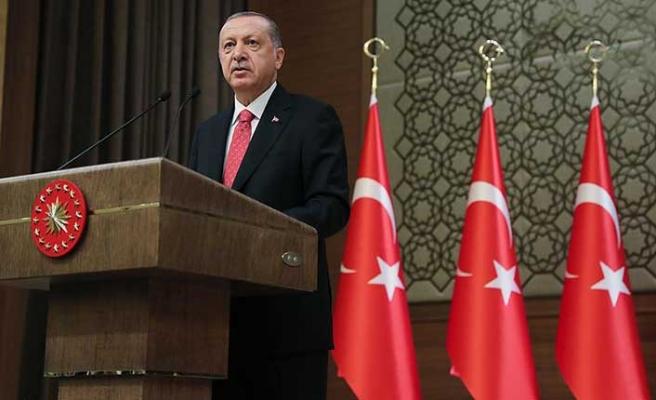 Cumhurbaşkanı Erdoğan, 2019 mesajı yayımladı