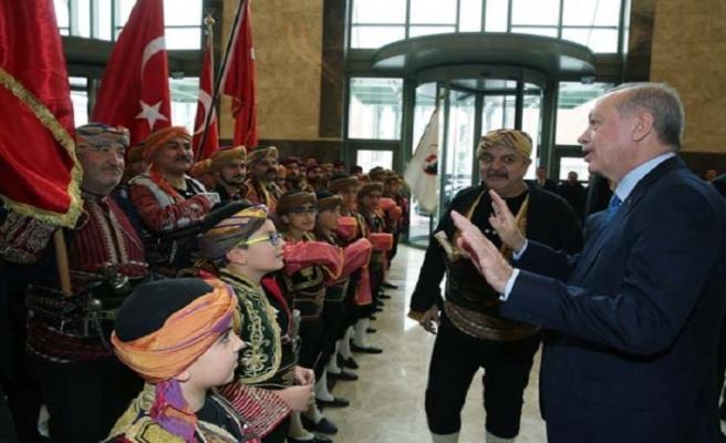 Erdoğan'dan 'Benim Cumhurbaşkanım değilsin' sözüne tepki