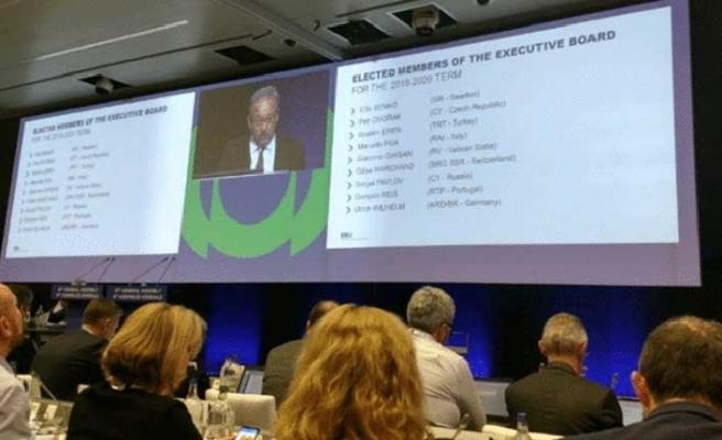 İbrahim Eren, EBU yönetim kuruluna seçildi