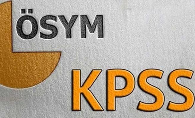 2019 KPSS sınav tarihleri belli oldu