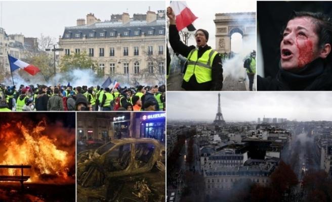 Olaylar büyüyordu, Fransa'da son dakika kararı