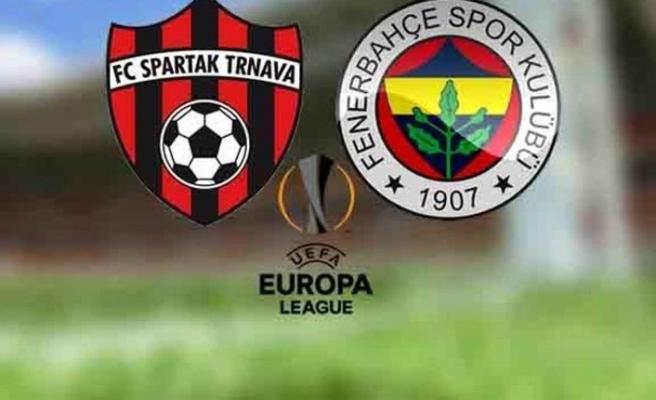 Spartak Trnava Fenerbahçe canlı izle - Spartak Trnava Fenerbahçe beIN Sports canlı izle