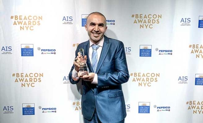 ABD'de yaşayan Türk pizzacı Hakkı Akdeniz ödüle doymuyor