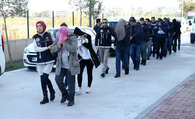 Adana'da şok narkotik baskını