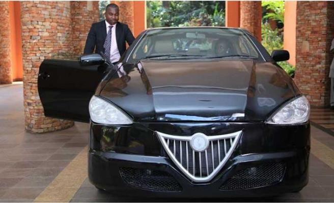 Uganda ilkhibrit aracını üretti