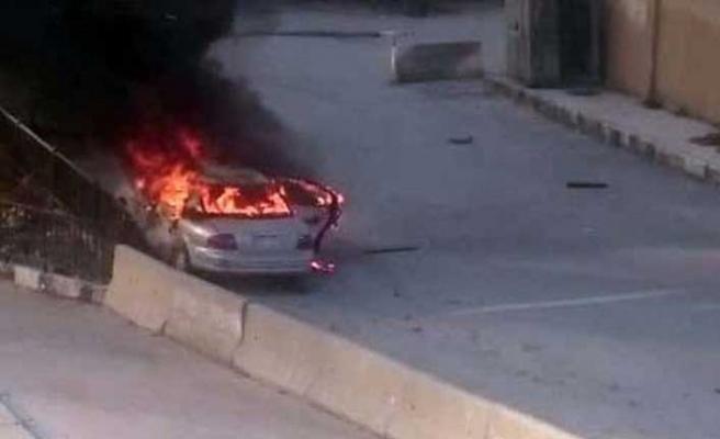 Afrin'de bomba yüklü araç patladı: Ölü ve yaralılar var