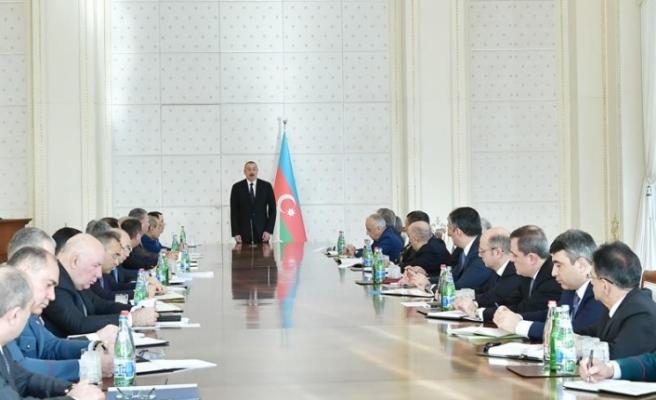 Aliyev: 2018 Azerbaycan için başarılı bir yıl oldu