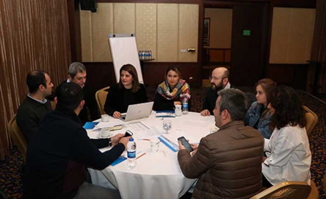 Antalya'da MAtchUP için 'Çalıştay'