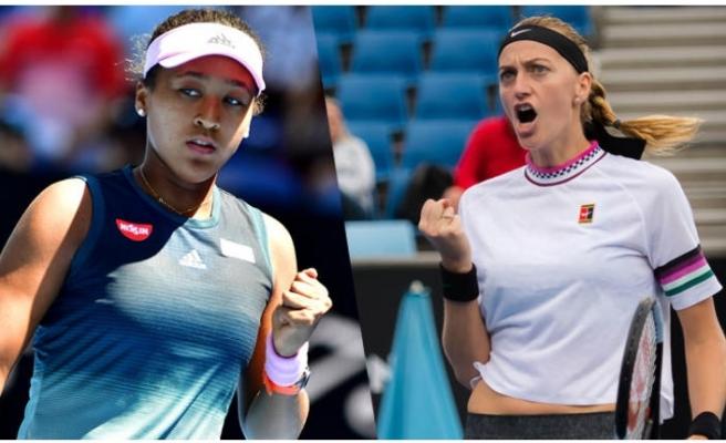 Avustralya Açık'ta finalin adı: Osaka-Kvitova