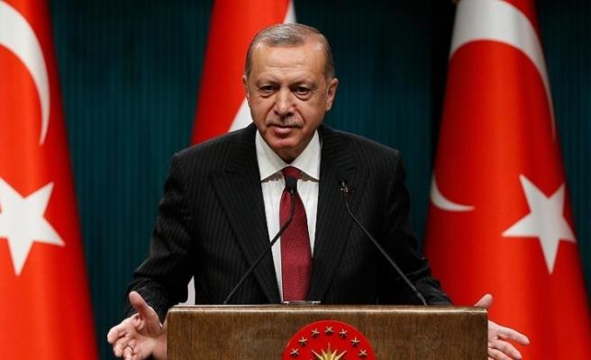 Cumhurbaşkanı Erdoğan'dan yatay mimari mesajı