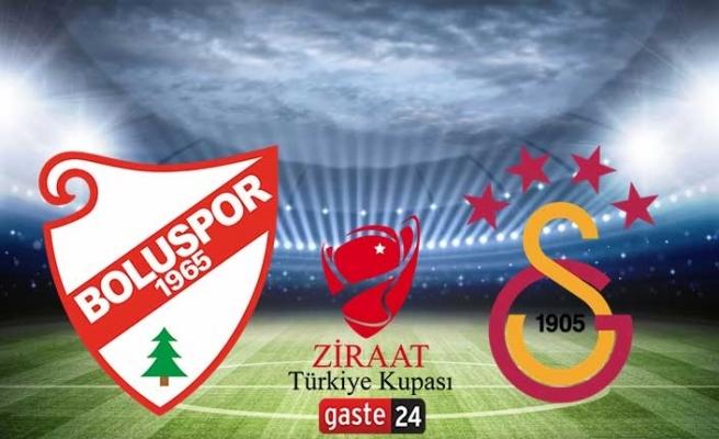 Boluspor Galatasaray canlı izle - Boluspor Galatasaray ATV izle
