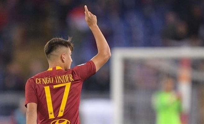 Cengiz Ünder'in Roma'da attığı gol yılın golü seçildi