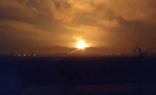 Sakarya Arifiye'de doğalgaz hattı yakınlarında patlama