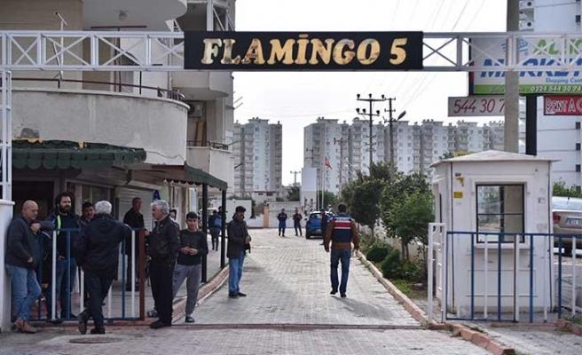 Flamingo 5 sitesinde dehşet!