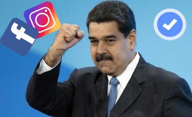 Instagram'dan Maduro'nun hesabı için açıklama