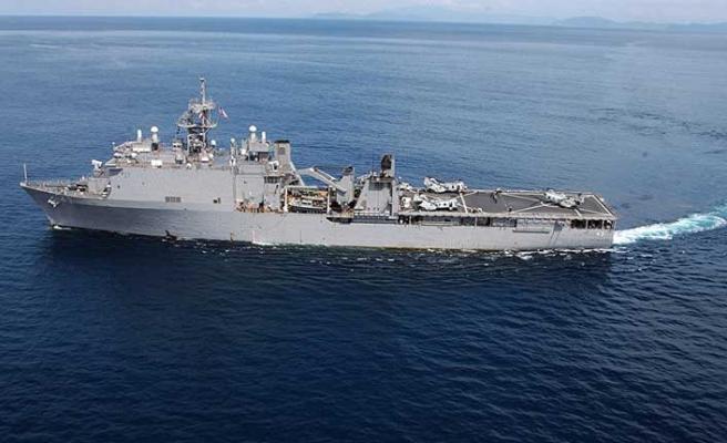 ABD'ye ait savaş gemisi boğazdan geçti